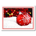 Bauble in the Snow - B204321