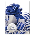 Ornamental Greetings - D248327-Blue