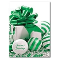 Ornamental Greetings - D248327-Green