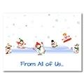 Snowmen at Play - C230326