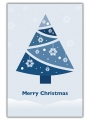 SNOWFLAKE TREE - C2459336-BLUE