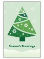 SNOWFLAKE TREE - C2459336-GREEN