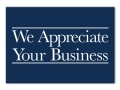 X0041 - We Appreciate Your Business